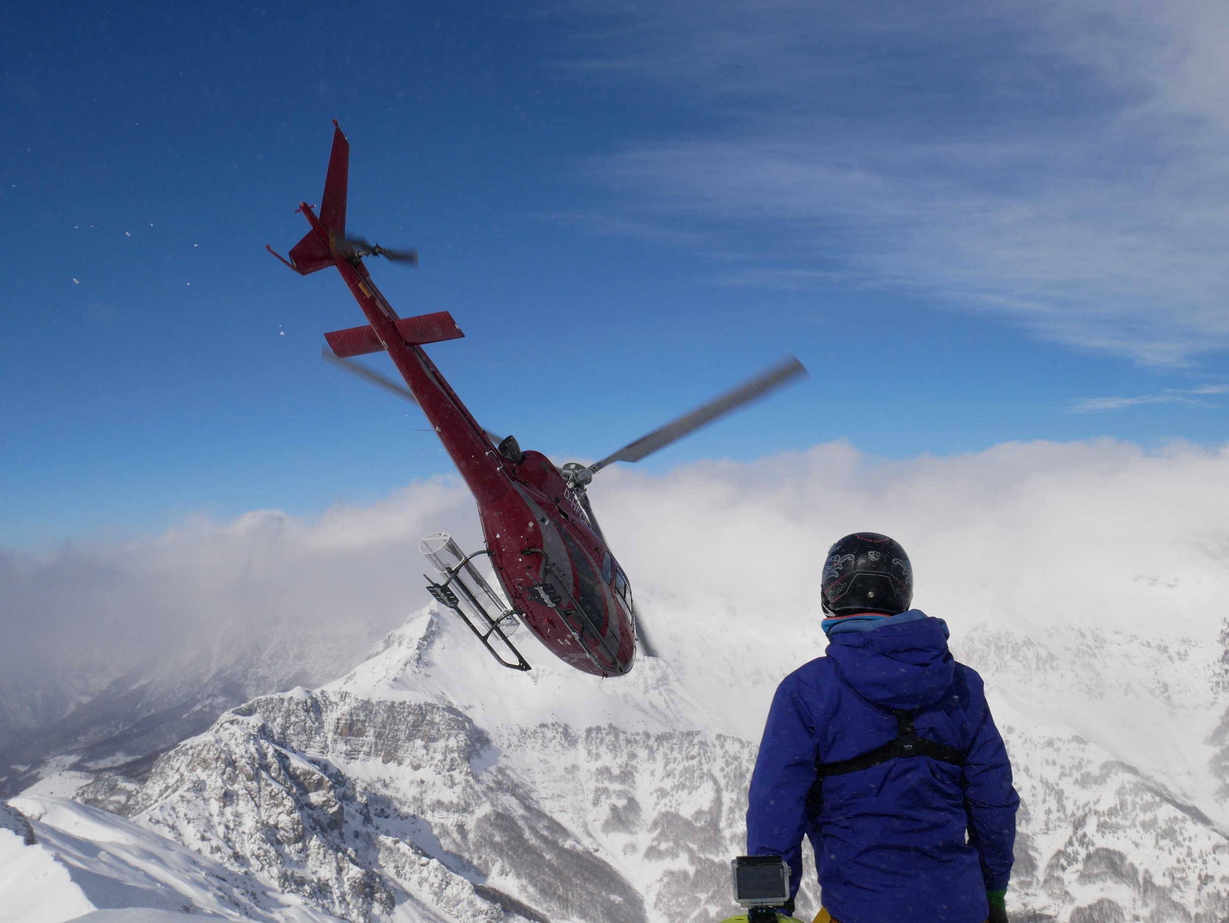 Vertical Adventures - One of the snowiest places in Europe - Heliski Albania